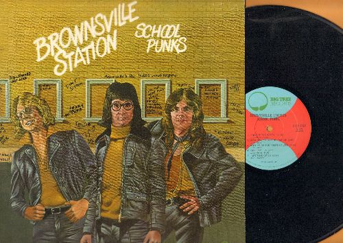 Brownsville Station - School Punks: Kings Of The Party, Mama Don't Allo No Parking, I Get So Excited, I'm The Leader Of The Gang (vinyl STEREO LP record) - NM9/NM9 - LP Records