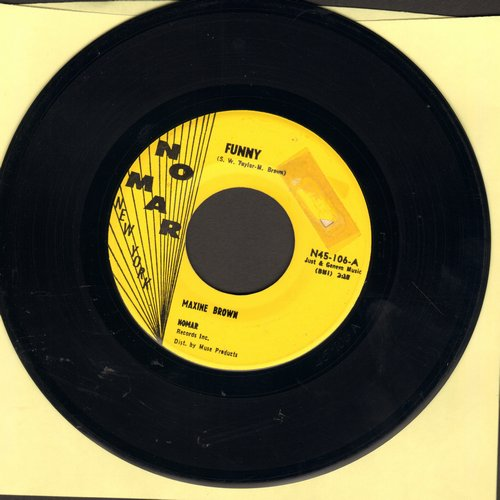 Brown, Maxine - Funny/Now That You've Gone - VG7/ - 45 rpm Records