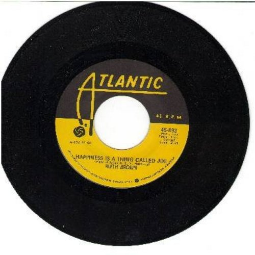 Brown, Ruth - Happiness Is A Thing Called Joe/Love Me Baby (yellow label re-issue of vintage recordings) - M10/ - 45 rpm Records