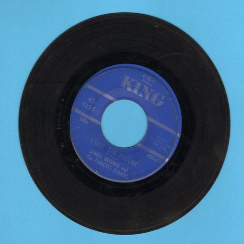 Brown, James & The Famous Flames - I Got The Feelin'/If I Ruled The World - G5/ - 45 rpm Records