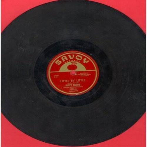 Brown, Nappy - Little By Little/I'm Getting Lonesome (10 inch 78 rpm record) - EX8/ - 78 rpm