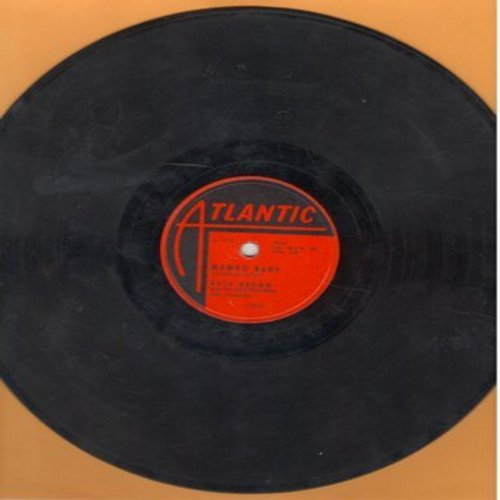 Brown, Ruth - Mambo Baby/Somebody Touched Me (10 inch 78 rpm record) - VG7/ - 78 rpm