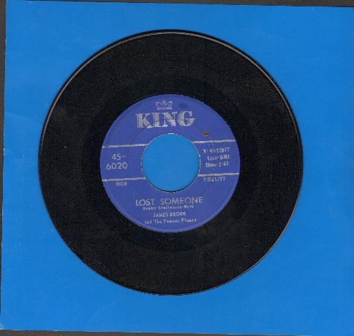 Brown, James - Lost Someone/I'll Go Crazy - VG7/ - 45 rpm Records