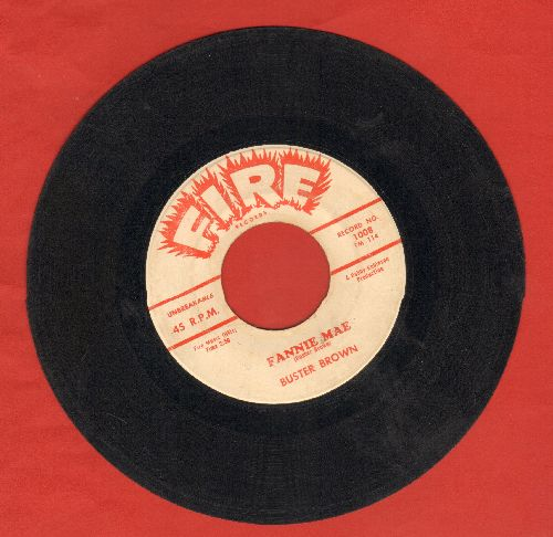 Brown, Buster - Fannie Mae/Lost In A Dream - VG7/ - 45 rpm Records