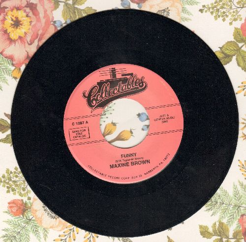 Brown, Maxine - Funny/Now That You've Gone (re-issue) - M10/ - 45 rpm Records