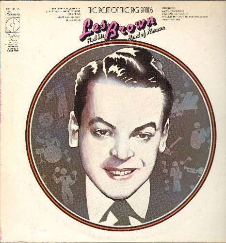Brown, Les & His Band Of Renown - The Beat Of The Big Bands: Sentiemntal Journey, Undecided, Twilight Time, I've Got My Love To Keep Me Warm (vinyl LP record, 1973 issue of vintage Big Band recordings) - NM9/EX8 - LP Records
