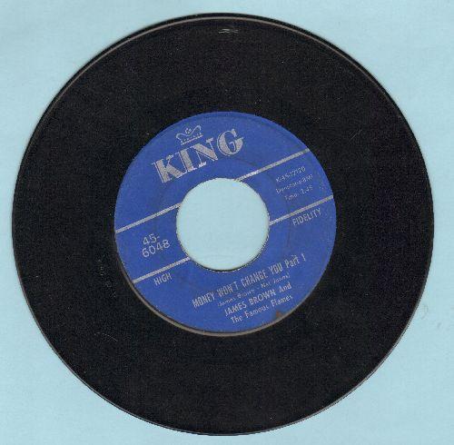 Brown, James & The Famous Flames - Money Won't Change You (Parts 1 + 2) - VG7/ - 45 rpm Records