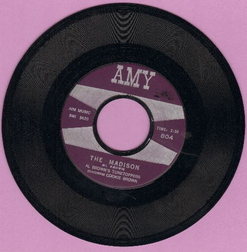 Brown, Al Tunetoppers Featuring Cookie Brown - The Madison/Mo' Madison (NICE condition!) - EX8/ - 45 rpm Records
