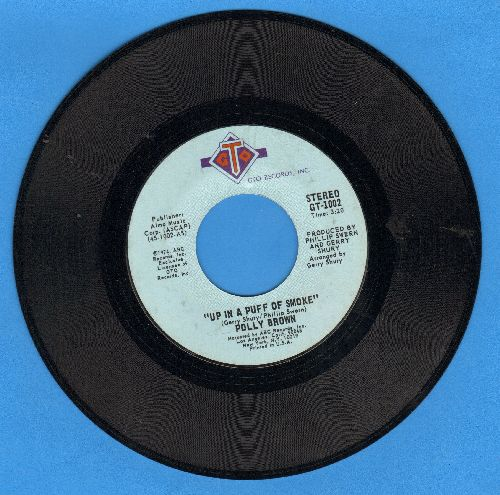 Brown, Polly - Up In A Puff Of Smoke/I'm Saving All My Love - NM9/ - 45 rpm Records