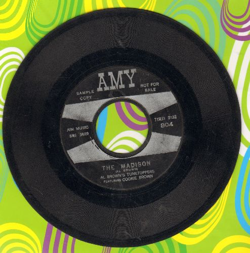 Brown, Al Tunetoppers Featuring Cookie Brown - The Madison/Mo' Madison (black/silver) - VG6/ - 45 rpm Records