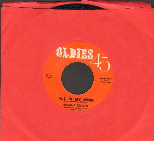 Brown, Maxine - All In My Mind/Harry Let's Marry (early double-hit re-issue) - EX8/ - 45 rpm Records