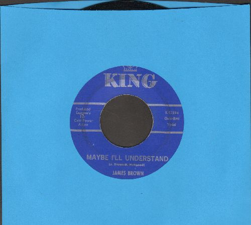 Brown, James - Maybe I'll Understand/I Love You - EX8/ - 45 rpm Records