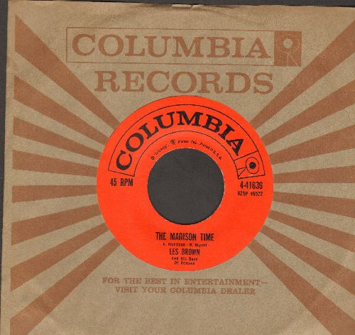 Brown, Les & His Band Of Renown - The Madison Time/Madison Hop (FANTASTIC JAZZ Novelty 2-sider!) (with Columbia company sleeve) - NM9/ - 45 rpm Records