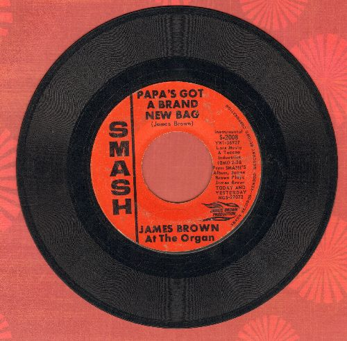 Brown, James  - Papa's Got A Brand New Bag/Try Me - VG7/ - 45 rpm Records
