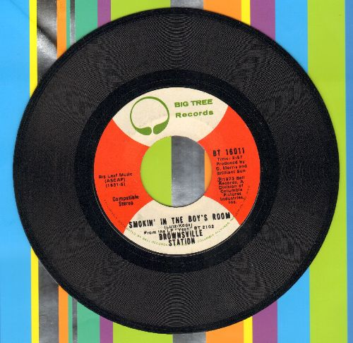 Brownsville Station - Smokin' In The Boy's Room/Barefootin' - EX8/ - 45 rpm Records