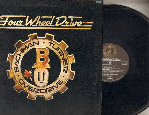 Bachman-Turner Overdrive - Four Wheel Drive: Hey You, She's A Devil, Quick Change Artist (vinyl STEREO LP record, gate-fold cover) - NM9/EX8 - LP Records