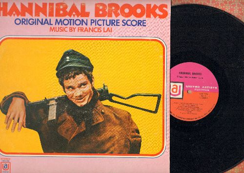 Hannibal Brooks - Hannibal Brooks - Original Motion Picture Score, Music by Francis Lai (Vinyl STEREO LP record) - NM9/EX8 - LP Records