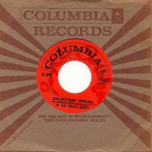 Brubeck, Dave Quartet - Short'nin' Bread/Camptown Races (with Columbia company sleeve) (wol) - EX8/ - 45 rpm Records