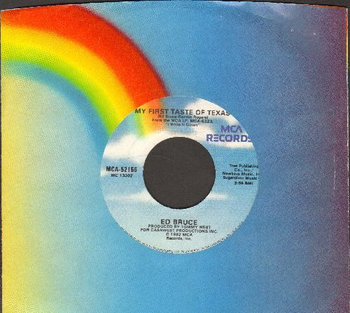 Bruce, Ed - My First Taste Of Texas/One More Shot Of Old Back Home Again (with MCA company sleeve) - VG7/ - 45 rpm Records
