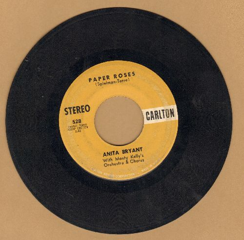 Bryant, Anita - Paper Roses/Mixed Emotions (RARE STEREO pressing) - VG7/ - 45 rpm Records