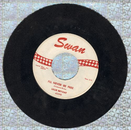 Bryant, Lillie - I'll Never Be Free/Smoky Gravy Eyes (Stroll Smoky) - VG7/ - 45 rpm Records