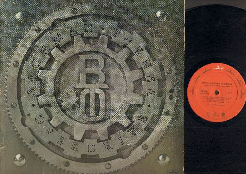 Bachman-Turner Overdrive - Bachman-Turner Overdrive: Gimme Your Money Please, Hold Back The Water, Stayed Awake All Night, Down And Out Man (Vinyl STEREO LP record, gate-fold cover) - NM9/VG7 - LP Records