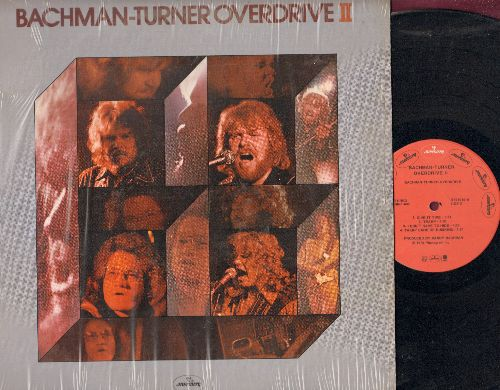Bachman-Turner Overdrive - Bachman-Turner Overdrive II: Takin' Care Of Business, Let It Ride, Blown, Give It Time, Tramp, Welcome Home (Vinyl STEREO LP record) - EX8/EX8 - LP Records