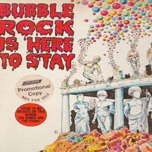 King, Jonathan - Bubble Rock Is Here To Stay: It's My Party, Twist And Shout, (I Can't Get No) Satisfaction, Rock Around The Clock, Mr. Tambourine Man (Vinyl STEREO LP record, DJ advance pressing) - NM9/EX8 - LP Records