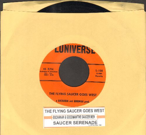 Buchanan & Goodman - The Flying Saucer Goes West/Saucer Serenade (with juke box label) - NM9/ - 45 rpm Records