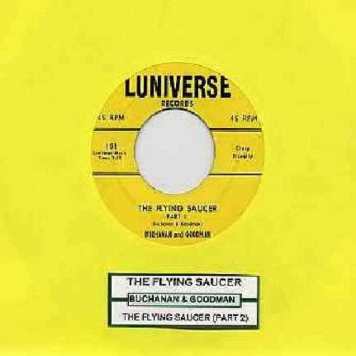 Buchanan & Goodman - Flying Saucer (Parts 1 + 2) (first in series of -cut in- novelty records, with juke box label) - EX8/ - 45 rpm Records