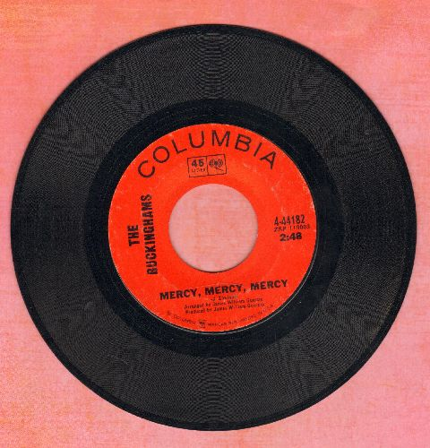 Buckinghams - Mercy, Mercy, Mercy/You Are Gone - EX8/ - 45 rpm Records