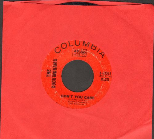 Buckinghams - Don't You Care/Why Don't You Love Me - VG7/ - 45 rpm Records