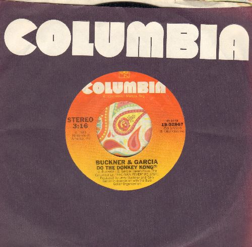 Buckner & Garcia - Do The Donkey Kong/Do The Donkey Kong (Instrumental) (with Columbia company sleeve) - NM9/ - 45 rpm Records