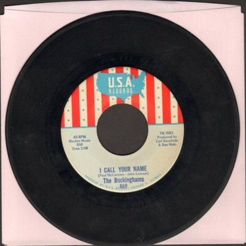 Buckinghams - I Call Your Name/Lawdy Miss Claudy (bb) - EX8/ - 45 rpm Records