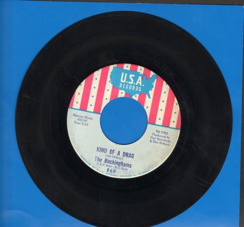 Buckinghams - Kind Of A Drag/You Make Me Feel So Good  - VG7/ - 45 rpm Records