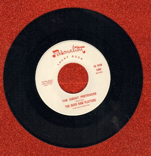 Ram, Buck Platters - The Great Pretender/Baby, Come Back Home - NM9/ - 45 rpm Records