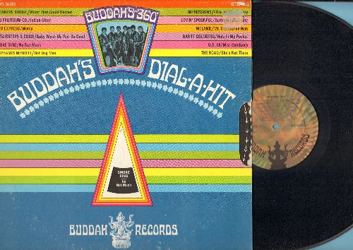 1910 Fruitgum Co., Lovin' Spoonful, Melanie, others - Buddah 360 - Dial-A-Hit: Indian Giver, Summer In The City, Hot Dog Man, She's Not There, Mr. Tambourine Man (vinyl STEREO LP record, gate-fold cover with spin-dial) - NM9/VG7 - LP Records