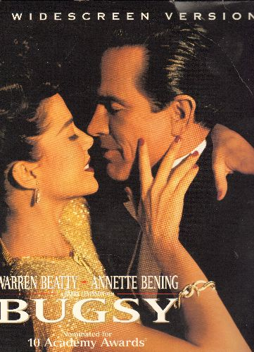Bugsy - Bugsy Double LASERDISC VERSION Starring Warren Beatty and Annette Bening (WIDESCREEN Edition on 2 LASERDISCs!) - NM9/NM9 - LaserDiscs