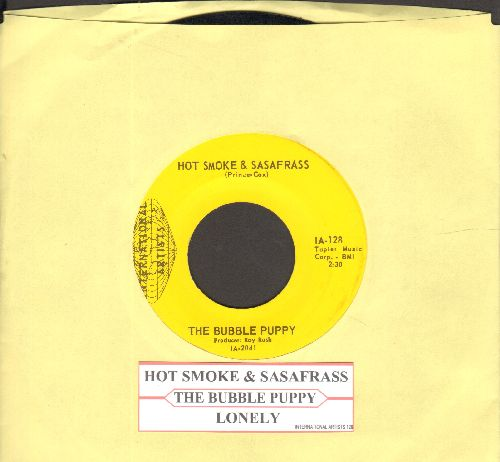 Bubble Puppy - Hot Smoke & Sasafrass/Lonely - NM9/ - 45 rpm Records
