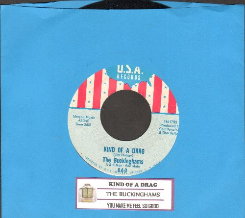 Buckinghams - Kind Of A Drag/You Make Me Feel So Good (NICE condition!) - NM9/ - 45 rpm Records