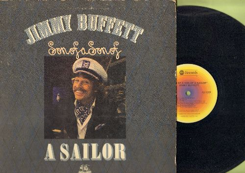 Buffett, Jimmy - Son Of A Son Of A Sailor: Cheeseburger In Paradise, Manana, Cowboy In The Jungle (vinyl STEREO LP record, gate-fold cover) - EX8/EX8 - LP Records