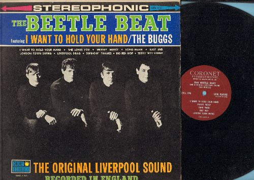 Buggs - Beetle Beat: Original Liverpool Sound! I Want To Hold Your Hand, She Loves You, Big Ben Hop, East End, Soho Mash, Liverpool Drag, Swingin' Thames, Teddy Boy Stomp (Vinyl STEREO LP record) - EX8/EX8 - LP Records