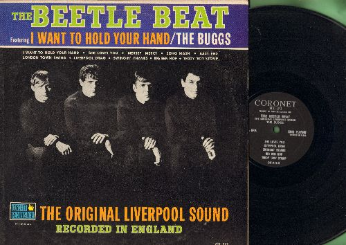 Buggs - Beetle Beat: Original Liverpool Sound! I Want To Hold Your Hand, She Loves You, Big Ben Hop, East End, Soho Mash, Liverpool Drag, Swingin' Thames, Teddy Boy Stomp (Vinyl LP record) - NM9/VG7 - LP Records