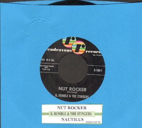 Bumble, B. & The Stingers - Nut Rocker/Nautilus (with juke box label) - EX8/ - 45 rpm Records