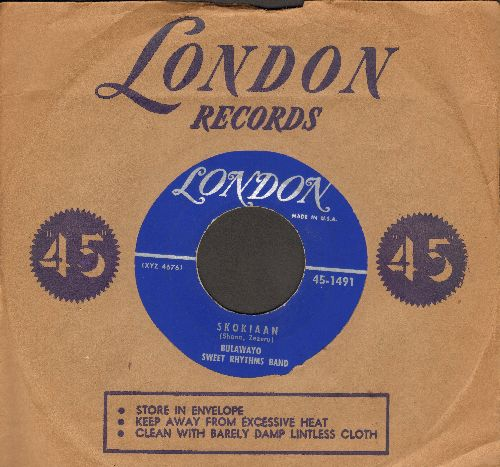 Bulawayo Sweet Rhythms Band - Skokiaan/In The Mood (with vintage London company sleeve) - EX8/ - 45 rpm Records