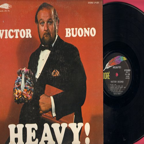 Buono, Victor - Heavy!: I'm Fat, Bless me Doctor, Lard Lib, You Don't Have To Be Fat To Hate Rome, A Word To The Wide (vinyl STEREO LP record) - NM9/EX8 - LP Records