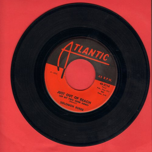 Burke, Solomon - Just Out Of Reach (Of My Two Open Arms)/Be Bop Grandma  - VG7/ - 45 rpm Records