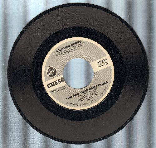 Burke, Solomon - You And Your Baby Blues (double-A-sided DEJ advance pressing) - NM9/ - 45 rpm Records