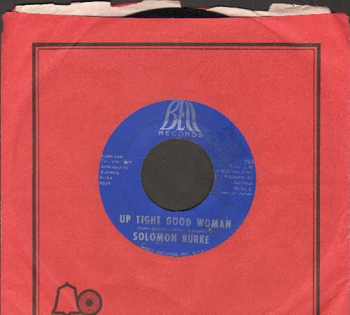 Burke, Solomon - Up Tight Good Woman/I Can't Stop (with Bell company sleeve) - EX8/ - 45 rpm Records