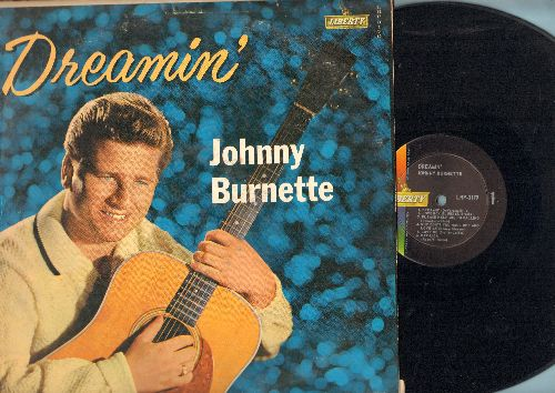 Burnette, Johnny - Dreamin': My Special Angel, I Really Don't Want To Know, Love Me, Cincinnati Fireball (vinyl MONO LP record) - VG7/VG6 - LP Records